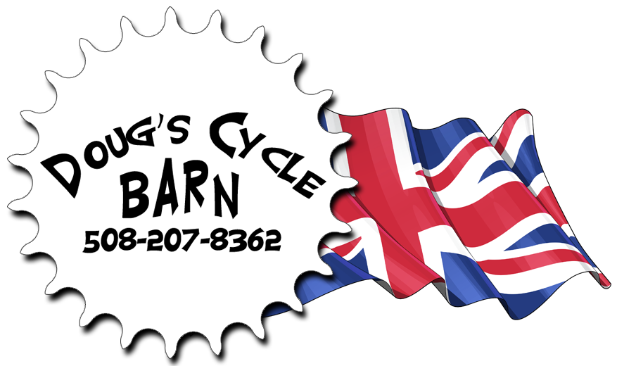 Doug's Cycle Barn, classic British motorcycle restoration, buy or sell vintage motorcycles; classic collectible motorcycle repair & service; stated value appraisals; Triumph, BSA, & Norton motorcycles; classic Harley Davidsons; BMW motorcycles; pre-1975 Honda motorcycles; serving MA, RI, CT, NH, VT, ME, NY, USA