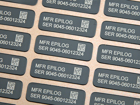 Laser-etched part number plaques, part number laser engraving, MA, RI, CT, NH, ME, VT, NY