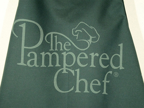 Laser-marked apron, laser-etched clothing, MA, RI, CT, NH, ME, VT, NY