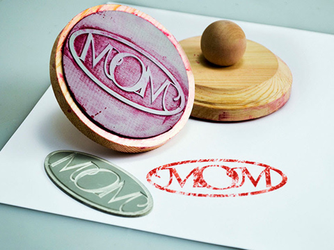Custom laser-cut rubber stamps, rubber stamp laser etching, MA, RI, CT, NH, ME, VT, NY