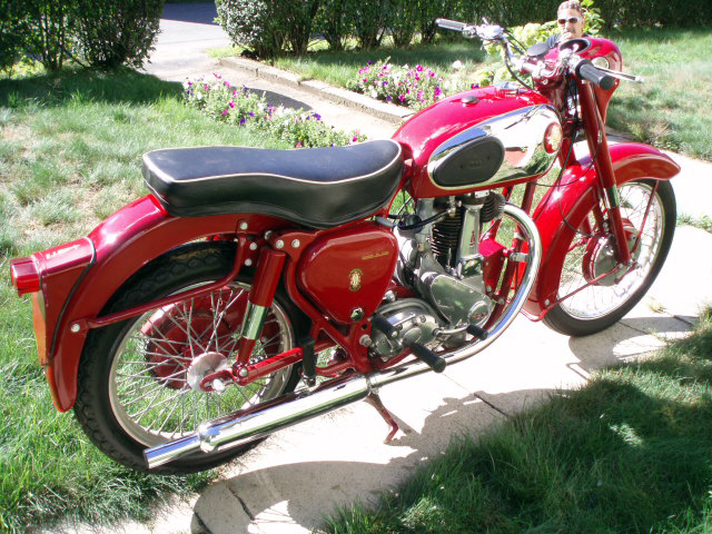 Vintage Motorcycle Restoration S