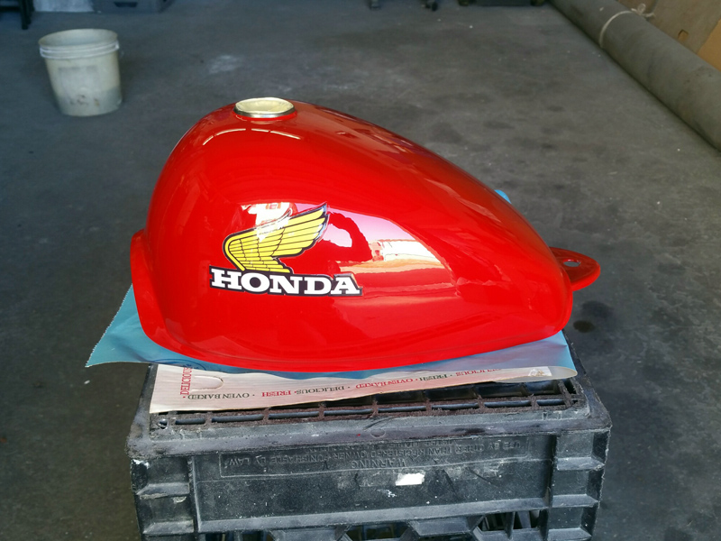 Vintage Honda Motorcycle Parts >> Vintage Motorcycle Paint Jobs, MA RI, Classic Motorcycle Molding Fabrication / Painting Services ...
