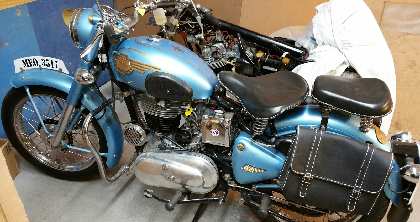 Vintage Motorcycle Restoration Sales Parts Service MA RI Classic